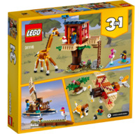 LEGO Creator: Safari Wildlife Tree House - (31116)