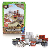 Minecraft Papercraft - Minecart Set 48-Piece Pack