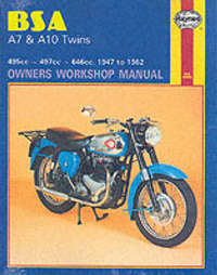 B. S. A. A7 and A10 Twins Owner's Workshop Manual by Jeff Clew image
