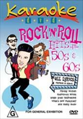 Karaoke - Rock 'n' Roll Hits of the 50's and 60's on DVD