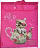 Spencil: Homework Bag - Tea Party Cat