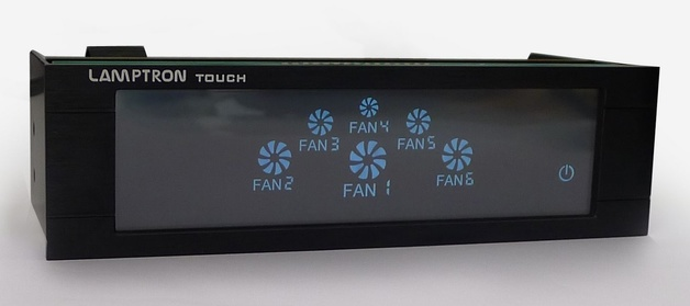 Lamptron: FCT 6-Channel - Touch Screen Fan Controller