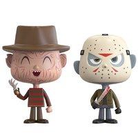 Freddy Krueger + Jason Voorhees - Vynl. Figure 2-Pack