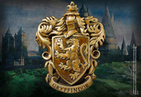 Harry Potter - Gryffindor Crest Wall Art