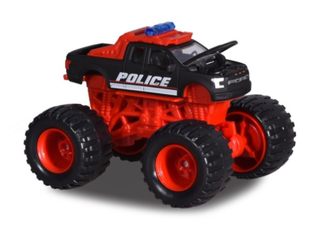 Majorette: Monster Rockerz - F150 Raptor Police
