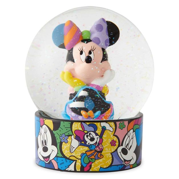 Disney Minnie Mouse Snow Globe by Romero Britto