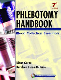 Phlebotomy Handbook: Blood Collection Essentials by Diana Garza image