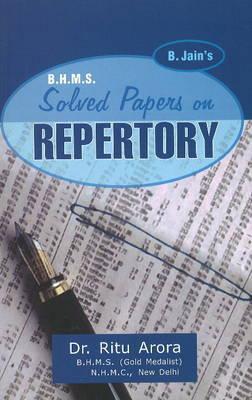 BHMS Solved Papers in Repertory by Arora Ritu