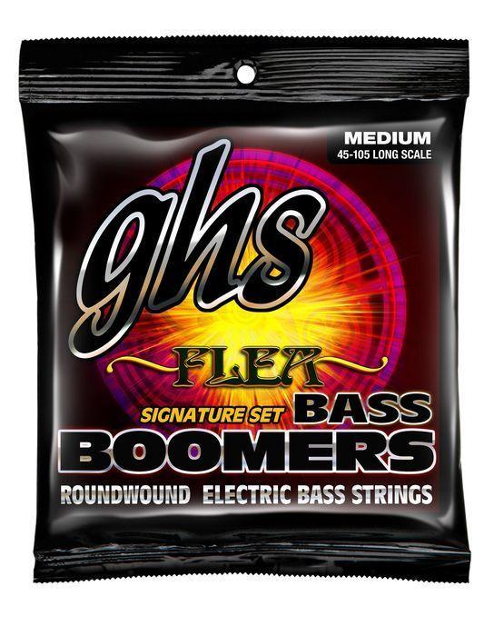 GHS Flea Signature Medium 45-105 Bass Boomers - Electric Bass Strings