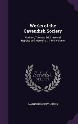 Works of the Cavendish Society image