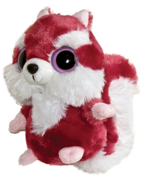 "Aurora World YooHoo & Friends: Chewoo the Squirrel - 8"" Plush"