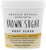 Organik Botanik Body Scrub Tub - Brown Sugar (200gm)