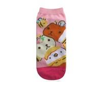 Capybara-san Ladies Socks - Pink