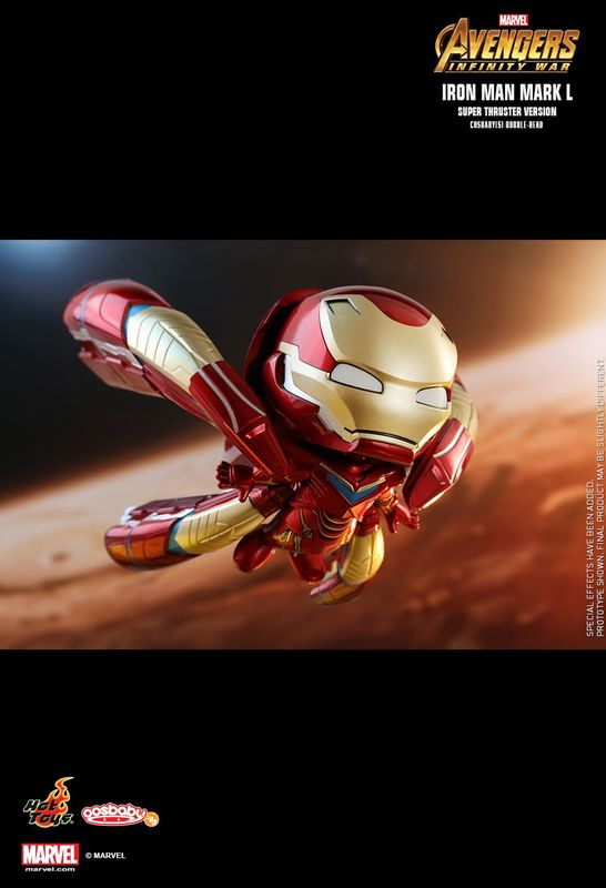 Avengers Infinity War: Iron Man Mark L Super Thruster - Cosbaby Figure