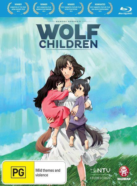 Wolf Children on Blu-ray