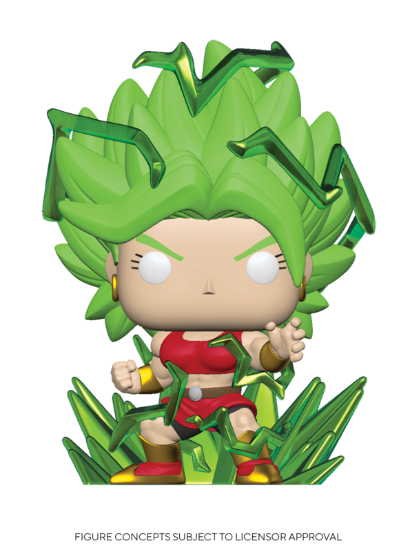 Dragon Ball Super - SS Kale (Powering Up) Pop! Vinyl Figure