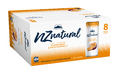 NZ Natural Sparkling Mandarin Spring Water 250ml (8 Pack)