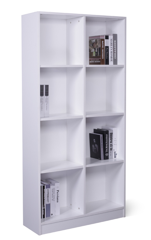 8 Cube Storage Cubby - White