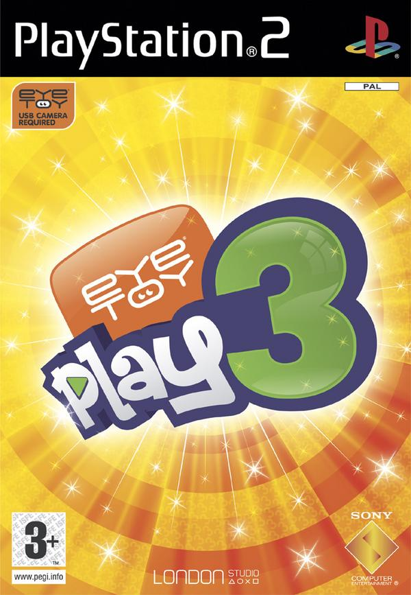 EyeToy Play 3 with Camera for PlayStation 2 image