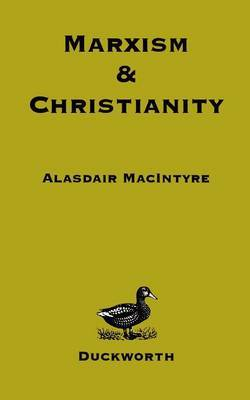 Marxism and Christianity by Alasdair MacIntyre image