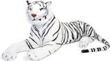 Melissa & Doug - White Tiger Giant Stuffed Animal Plush