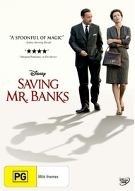 Saving Mr Banks on DVD