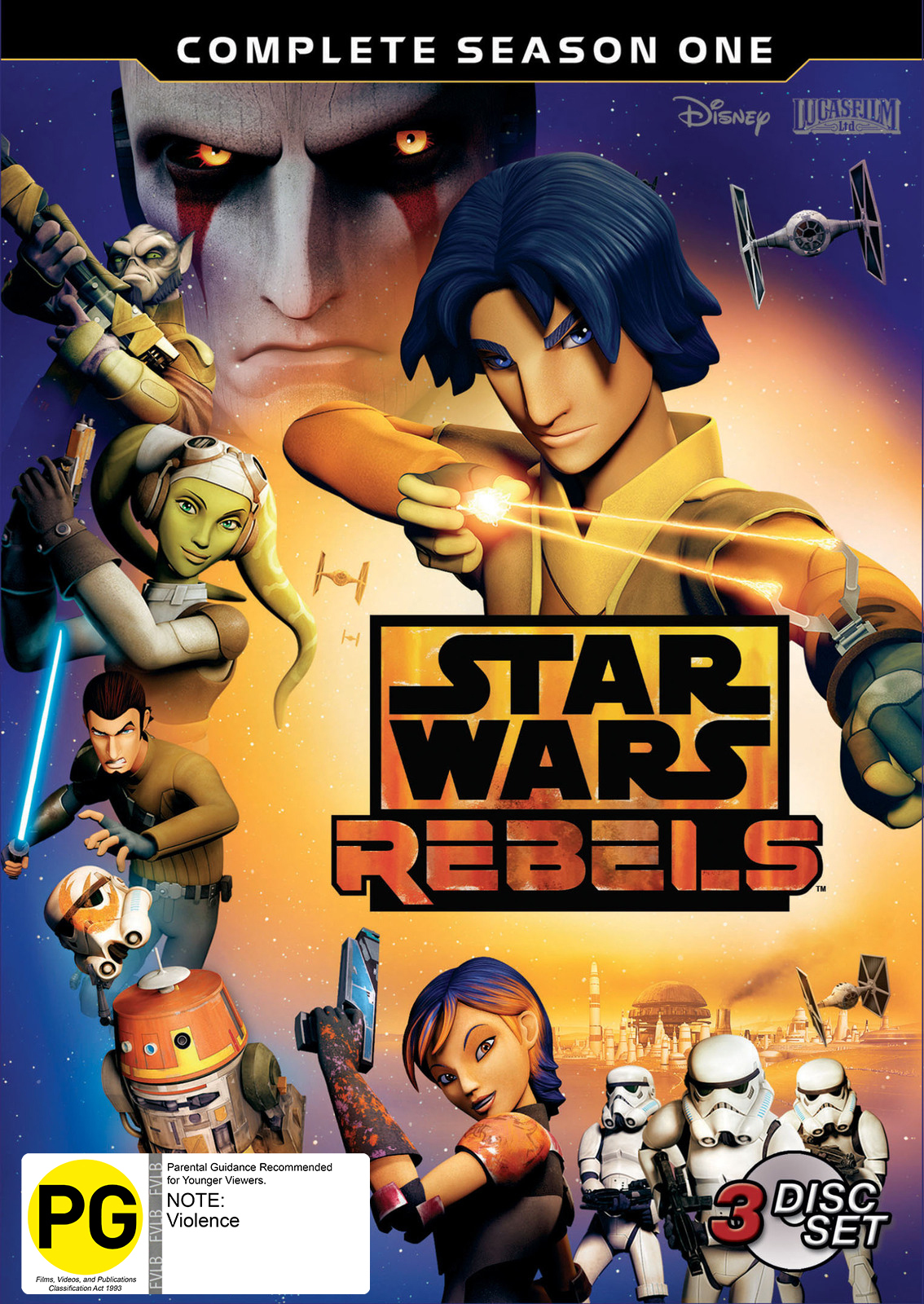 Star Wars Rebels - Season 01 on DVD image