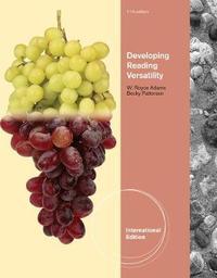 Developing Reading Versatility, International Edition by W Adams image