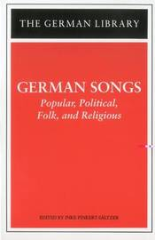 German Hymns and Songs