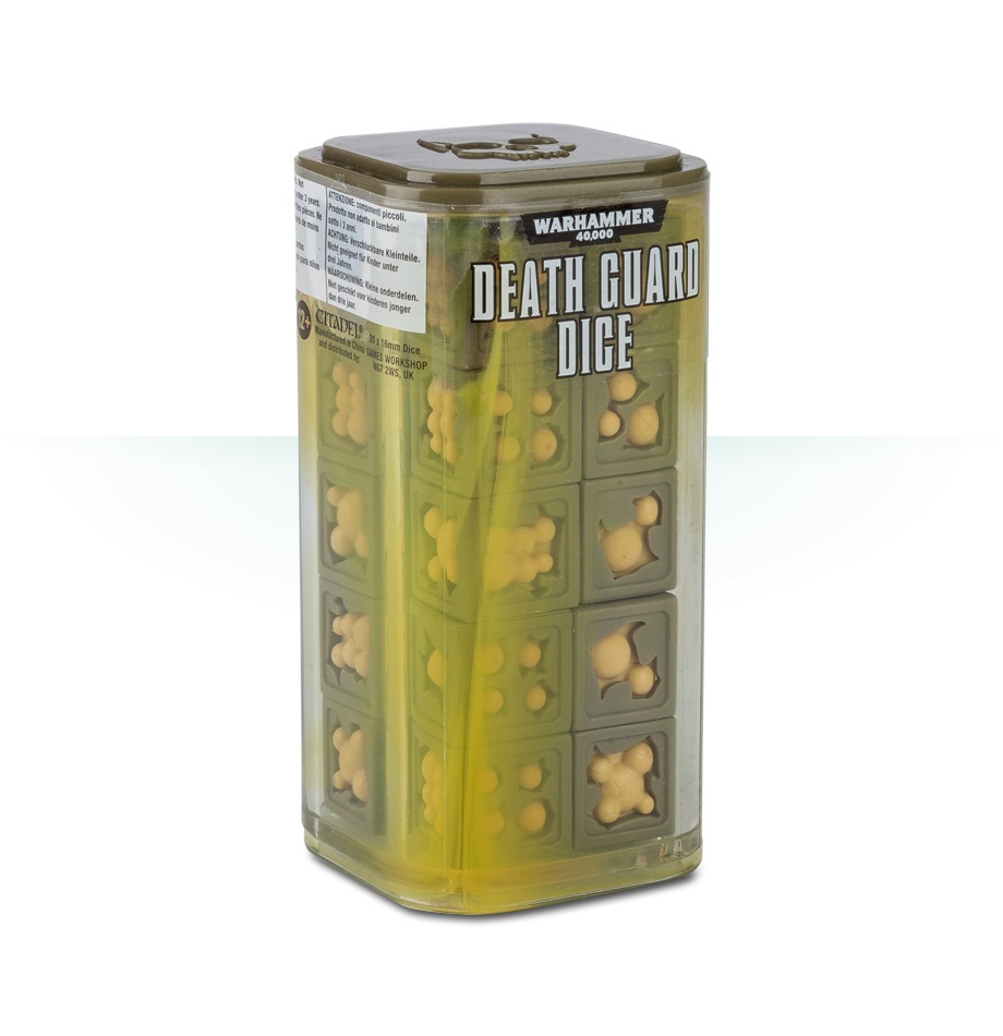 Warhammer 40,000: Death Guard Dice image