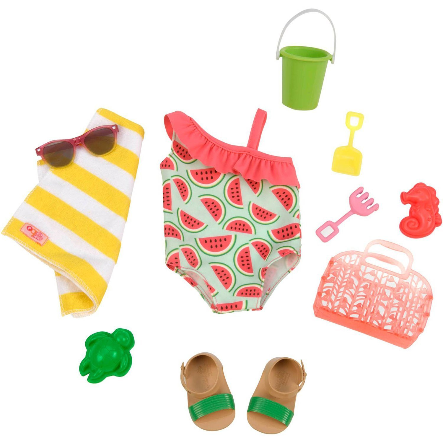 Our Generation: Regular Outfit - Watermelon Swimsuit image
