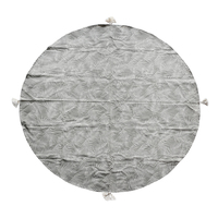 Raine & Humble Palm Goat Round Tablecloth