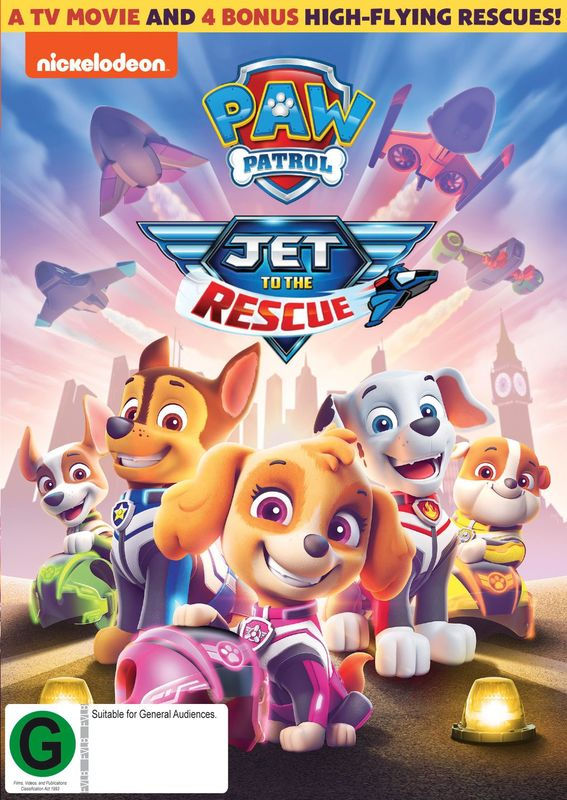 Paw Patrol: Jet To The Rescue on DVD