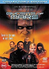 Ghosts Of Mars on DVD