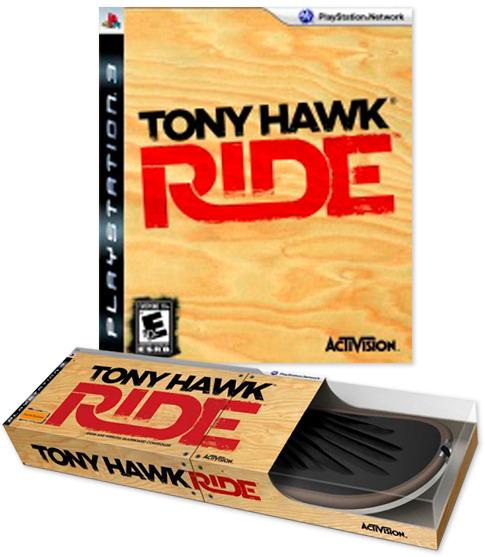 Tony Hawk: Ride Skateboard Bundle for PS3