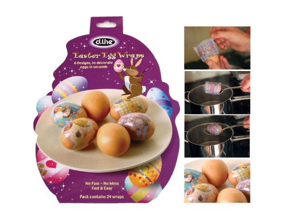 Easter Egg Wraps - Set of 24