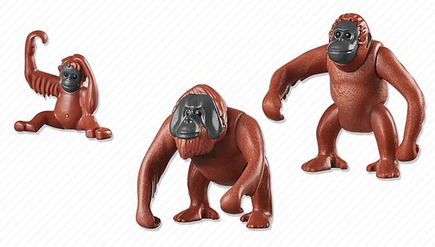 Playmobil: Zoo Theme - Orangutan Family (6648)