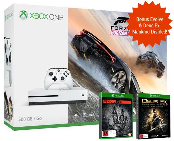 Xbox One S 500GB Forza Horizon 3 Console Bundle for Xbox One