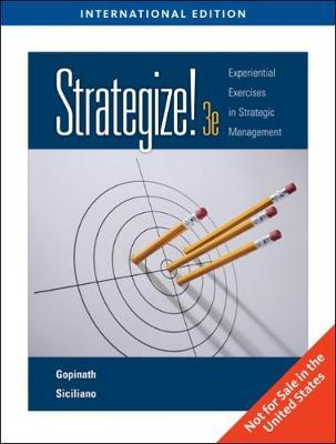 Strategize! by C. Gopinath
