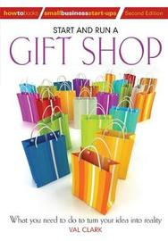 Start and Run A Gift Shop 2nd Edition by Val Clarke image