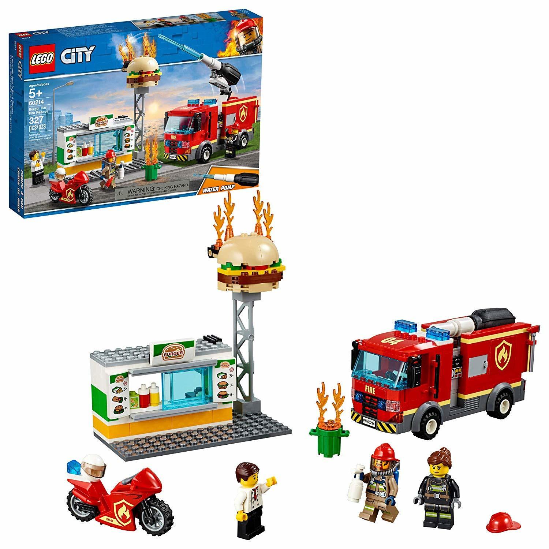 LEGO City: Burger Bar Fire Rescue (60214)