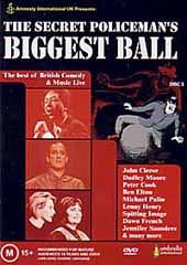The Secret Policeman's Biggest Ball on DVD