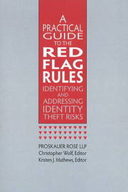 Practical Guide to the Red Flag Rules by Proskauer Rose image