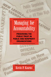 Managing for Accountability by Kevin P. Kearns
