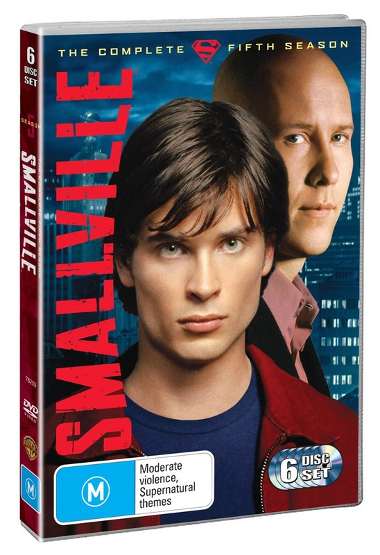 Smallville - The Complete 5th Season (6 Disc Set) on DVD
