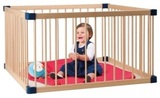 Mother's Choice Square Wooden Playpen