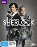Sherlock: Series One - Three & The Abominable Bride on DVD