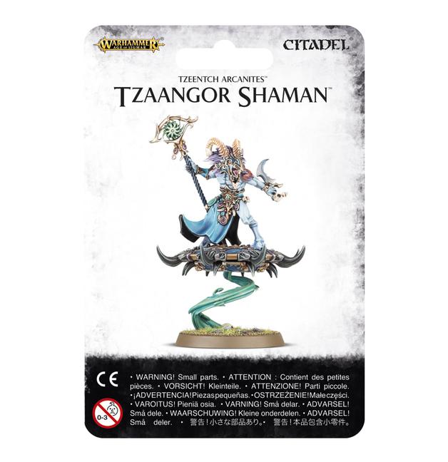 Age of Sigmar: Tzeentch Arcanites Tzaangor Shaman