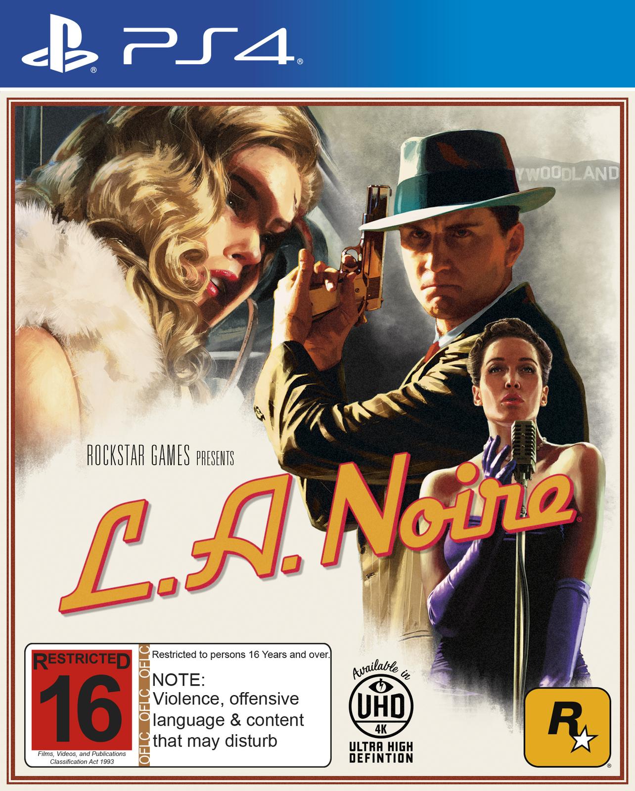 L.A. Noire for PS4 image