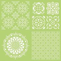 Kaisercraft: 12 x 12 Stencils Template - Intricate Tiles